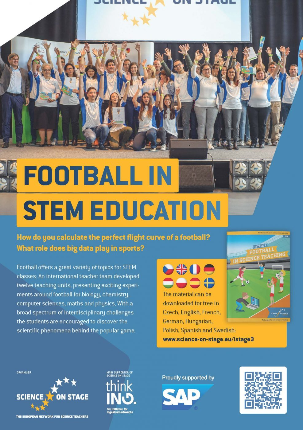 Flyer Football In Science Education Página 1