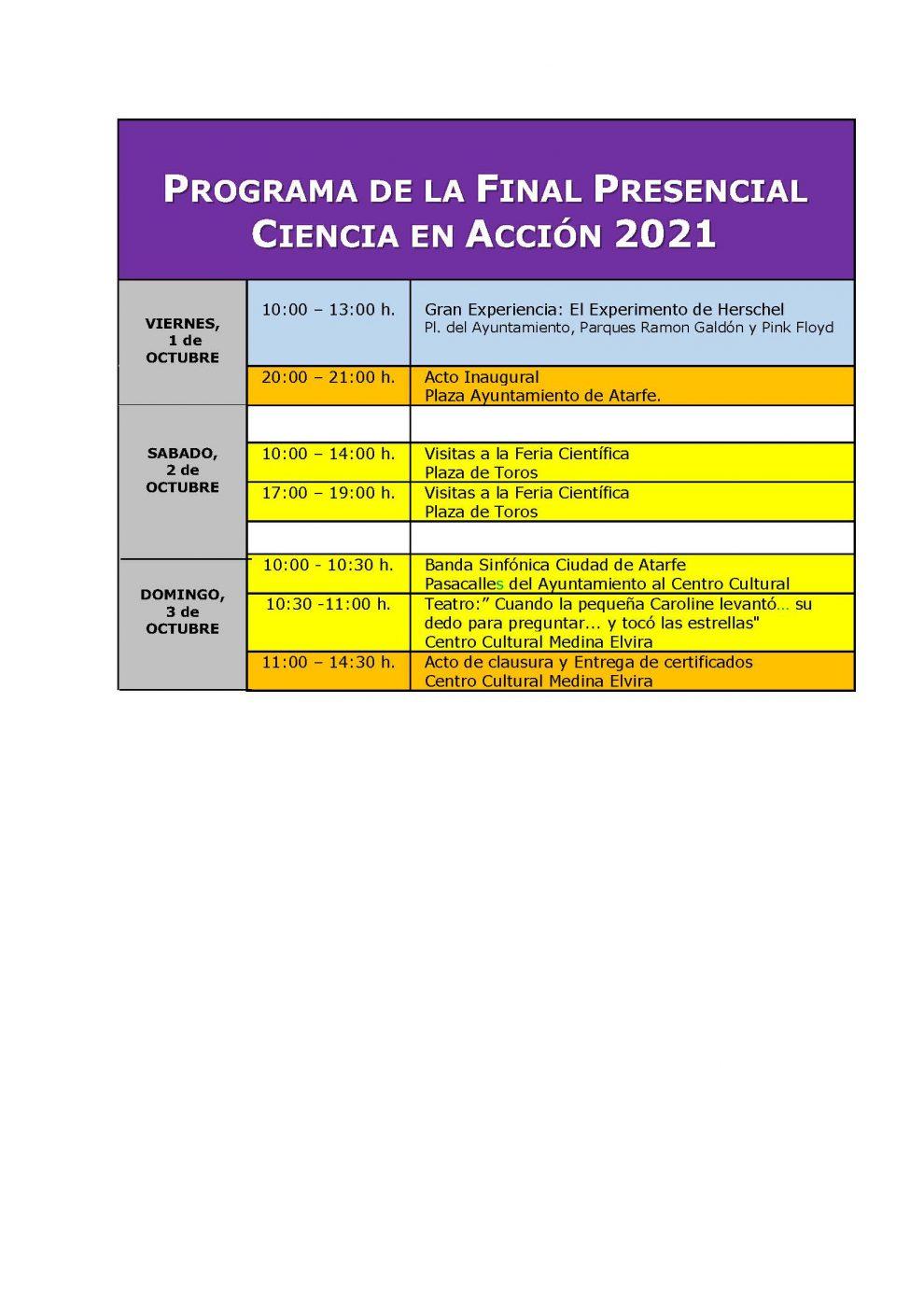 Programa Publico Final Atarfe 2021